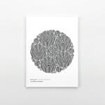 英文原版 Poemotion 1 三步曲之*部 抽象图案 莫列波纹光学原理 Takahiro Kurashima La