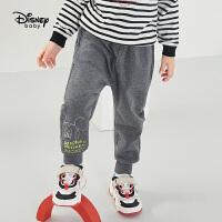 年��【秒��r:42元】迪士尼����幻想即�d曲男童���L�中麻灰秋季新款