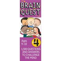 现货 英文原版 Brain Quest Grade 4 益智挑战 四年级 9-10岁