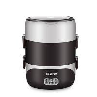 电热饭盒三层蒸煮电饭盒 迷你电饭煲1-2人 可插电加热2L