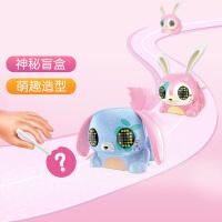 Lollipets甜心棒棒家族 女童盲盒玩具 会跑会跳可爱小兔子小女孩节日礼物智能电动萌趣摆件公仔