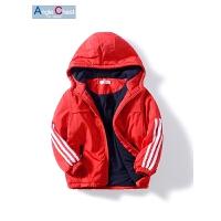 男童冬装外套儿童外套中大童冬季棉衣童装