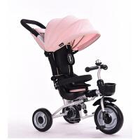儿童三轮车脚踏车1-3-6岁大号婴儿手推车宝宝自行车童车