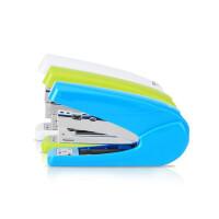 得力彩色订书机 订书器 装订机 0429省力型订书机 颜色随机
