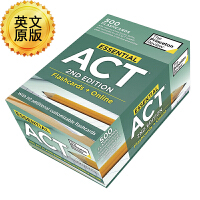 Essential ACT 英文原版 ACT基本知识 Help Boost Your Act Score 500个需要