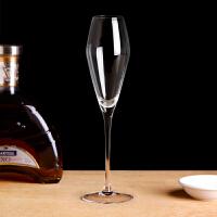 香槟杯子甜酒杯气泡酒杯水晶玻璃高脚杯鸡尾酒杯红酒杯套装家用
