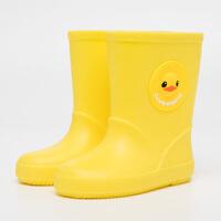 儿童雨鞋男童女童胶鞋小孩水鞋小童可爱防滑1-3婴幼儿童宝宝雨靴 24 内长14.8cm
