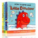 英文原版HOW TO COLLECTION独立习惯养成指南 幼儿生活自理系列4册套装