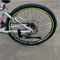 自行车边撑脚 山地车脚撑 铝合金脚架支架 骑行装备配件 停车架