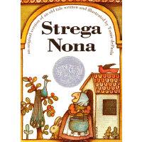 Strega Nona (1976 Caldecott Honor) [Board Book] 巫婆奶奶(1976年凯迪克银奖,卡板书) ISBN 9780689817649