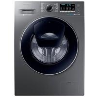 三星(SAMSUNG)8公斤滚筒洗衣机纤薄智能变频节能洗护泡泡净安心添WW80K5210VX/SC