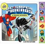【预订】DC Super Friends: The Missing Batmobile: A Lift-The-Fla