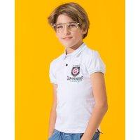 【专区59元3件】加菲猫男童中大童翻领POLO衫 短袖T恤GTW17211