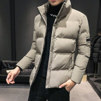 【秋冬新品】高端品牌男士棉衣2019年新款冬季潮流韩版帅气棉袄冬装短款薄外套