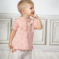 davebella戴维贝拉2020夏装新款男童套装宝宝绅士两件套DBX13479