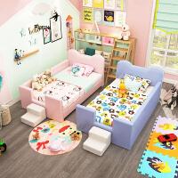 婴儿床拼接大床实木多功能婴儿床宝宝床中床儿童拼接床新生婴儿床