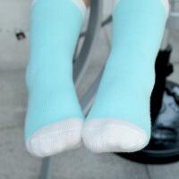 婴儿袜子6-12个月宝宝袜子0-3新生儿袜子春秋防滑中筒儿童袜