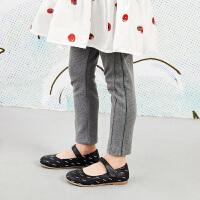 【3件7折价:146.3元】马拉丁童装女大童裤子春装2020年新款百搭打底裤显瘦儿童裤子
