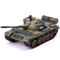 军事战车T55合金坦克模型仿真金属儿童玩具车59式坦克