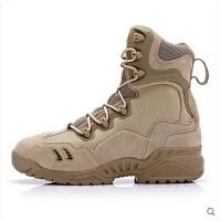 男士靴子 军迷战术靴 英国精锐蜘蛛靴飞行靴沙漠靴户外休闲特种兵军靴