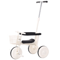 简约无印儿童三轮车脚踏车1-3岁幼儿轻便手推车宝宝自行车童车YW157