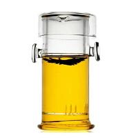 红茶绿茶泡茶器耐高温玻璃茶具茶壶双耳琉璃杯不锈钢过滤公道杯泡