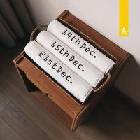 创意情侣结婚家用棉洗脸毛巾婚庆定制日期礼盒套装k 白色 35x80cm