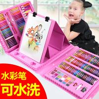 水彩笔儿童画画笔套装小学生无毒可水洗彩色笔幼儿园水彩绘画蜡笔
