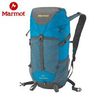 Marmot/土拨鼠 专业户外舒适多功能中性20L升双肩登山背包D25030