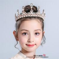 儿童头饰头花花环套装女童发饰公主头箍女孩珍珠发箍发带演出