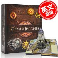 现货 英文原版 Game of Thrones: A Pop-Up Guide 冰与火之歌立体书 权力的游戏立体书