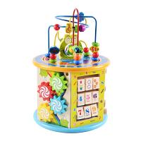 儿童玩具 0-1-2-3周岁宝宝玩具女男孩子早教开发幼儿积木礼物 【八大功能】百宝箱