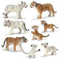 德国思乐Schleich 仿真静态动物模型 老虎系列孩子礼物