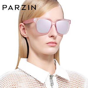 帕森偏光太阳镜女 复古大框炫彩膜潮墨镜司机驾驶镜 时尚9858