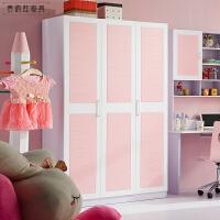 衣�灰鹿�和�房家具套房粉色�{色 衣柜