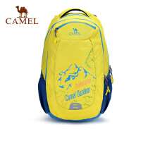 camel骆驼户外双肩背包 男女通用款户外休闲徒步旅游双肩背包