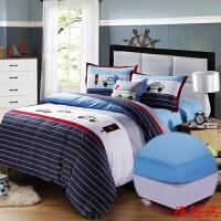 �和�床上用品四件套全棉男孩男童卡通床品床笠被套1.2m1.5米定制