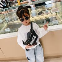 儿童腰包女童潮包斜挎包新款时尚零钱包男童休闲小包宝宝胸包