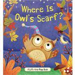 【预订】Where Is Owl's Scarf?: A Lift-The-Flap Book 97814998017