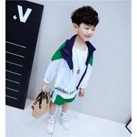 童装夏装套装儿童短袖中大童男孩帅气两件套