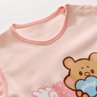婴儿连体衣秋装 宝宝哈衣 新生儿长袖衣服爬服
