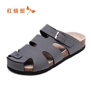 红蜻蜓男鞋男凉鞋WTL7317