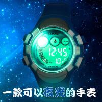 儿童手表防水夜光中小学生男童男孩女童女孩数字多功能运动电子表