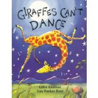 Giraffes Can't Dance [Board book]长颈鹿不会跳舞(卡板书)ISBN9780545392