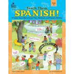 【预订】Teach Them Spanish!, Grade 1: A Teacher Source Book of