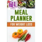 【中商海外直订】Meal Planner for Weight Loss: Eat Drink and Be Heal