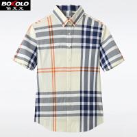 2件3折 不起球秋冬季厚款宽松条纹卫衣男装衬衫领假两件卫衣长袖T恤男士 Z9256