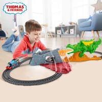 托马斯小火车电动轨道套装逃离喷火龙探险男孩玩具2019新品FXX66