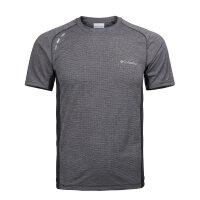 【现货】2019春夏新品哥伦比亚户外男装速干衣反光跑步圆领短袖T恤PM3446