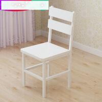 现代简约餐椅木质铁艺休闲靠背椅家用创意餐桌椅子餐厅凳子3pc